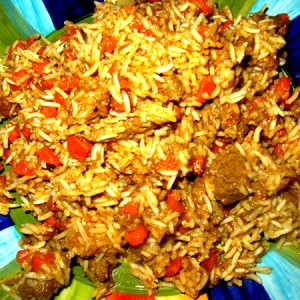 A hearty rice dish straight from Uzbekistan, but popular all over Russia.