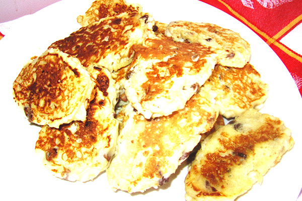 Apple Russian Pancakes - Blinis